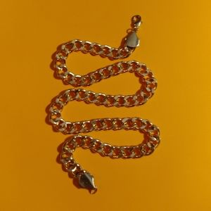 """Thick gold link 21"""" hip hop necklace chain"""